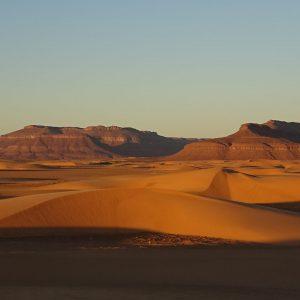 Coucher de soleil sur l'Adrar