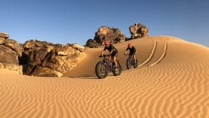 Fatbike dans le désert